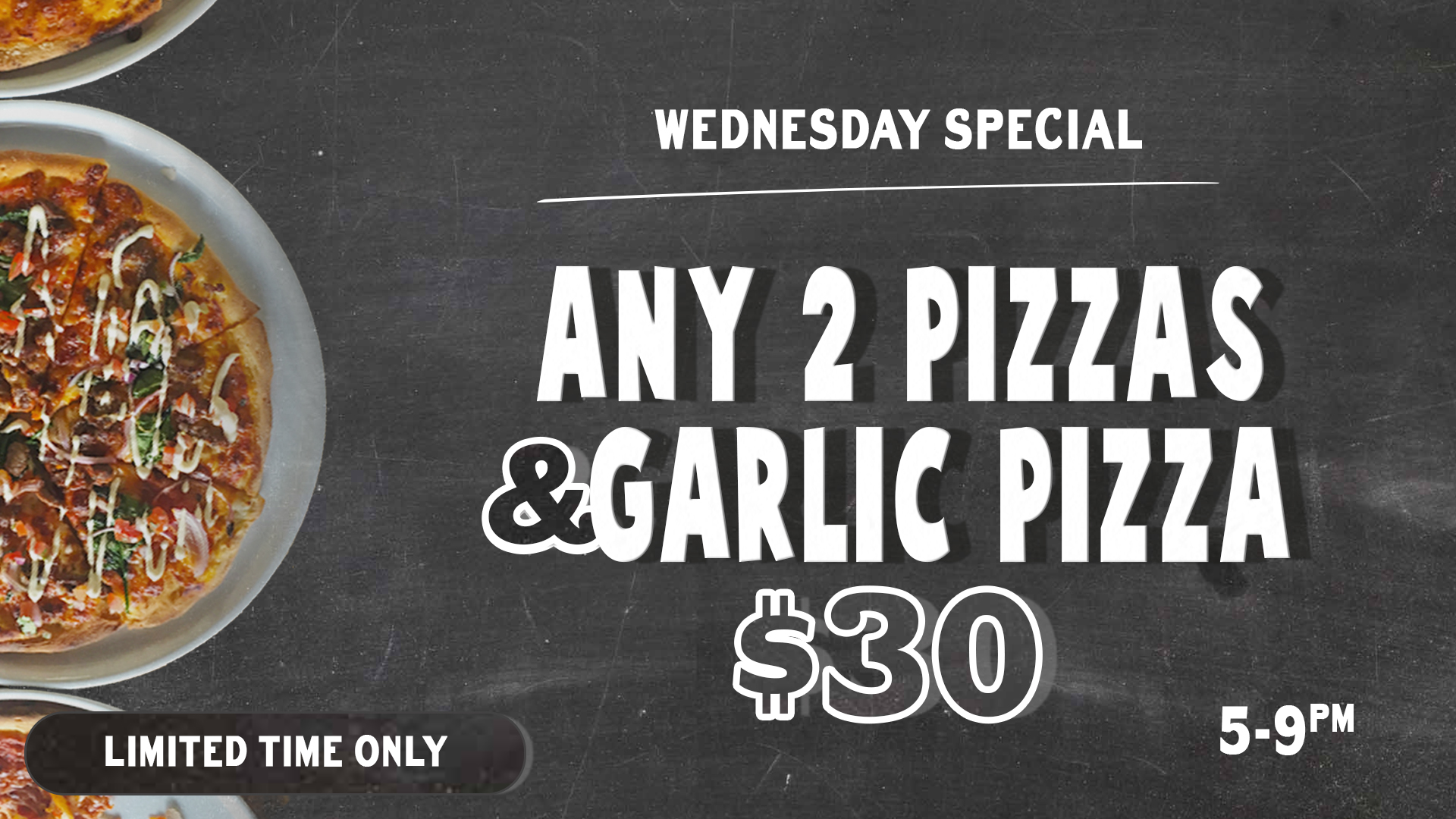 Wed Pizza Deal